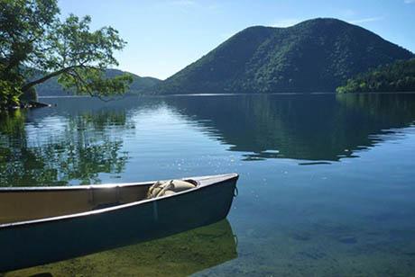 然別湖写真1