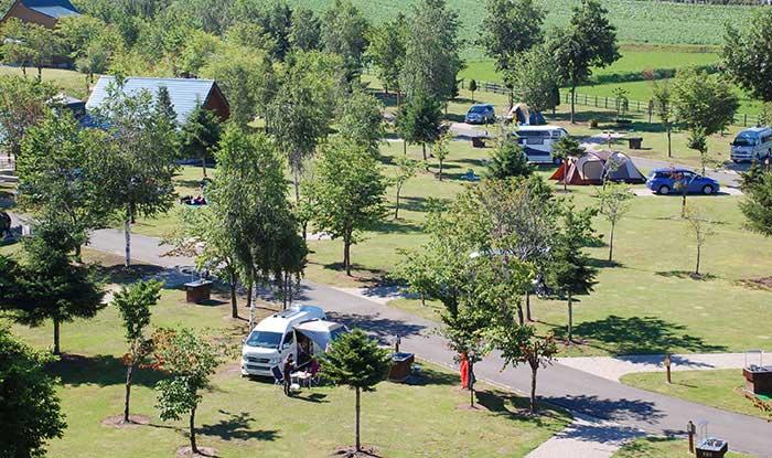 上富良野町日の出公園オートキャンプの写真