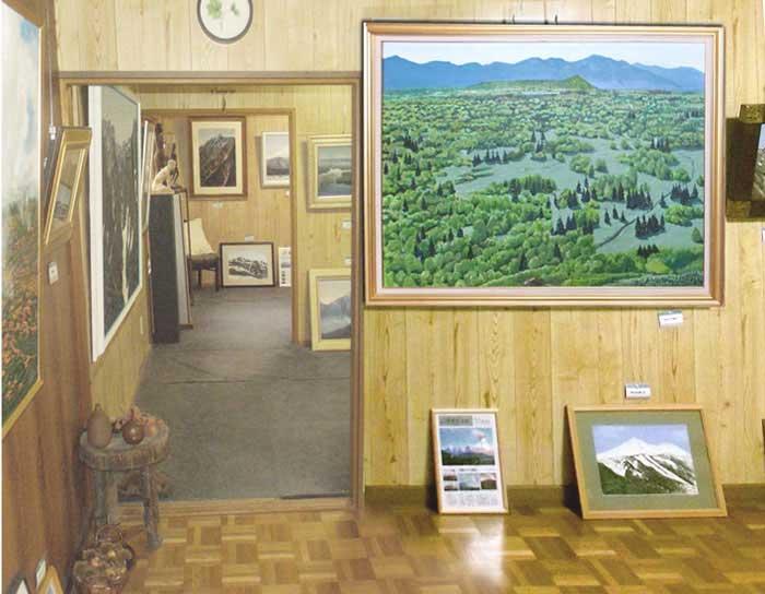 佐藤喬の山の絵美術館・江幌小屋の写真
