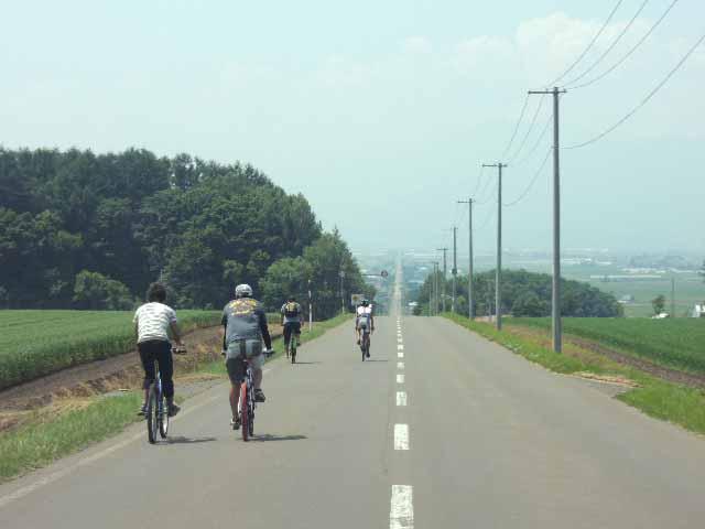 かみふらのサイクリングロードの写真
