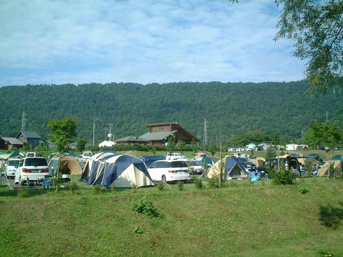 きのこの里あいべつオートキャンプ場の写真