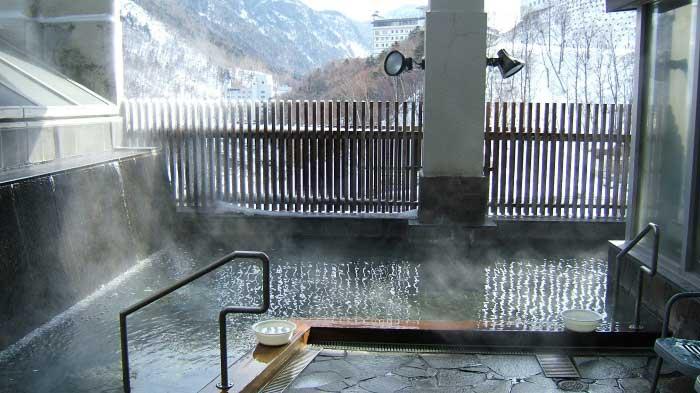 層雲峡 黒岳の湯の温泉写真