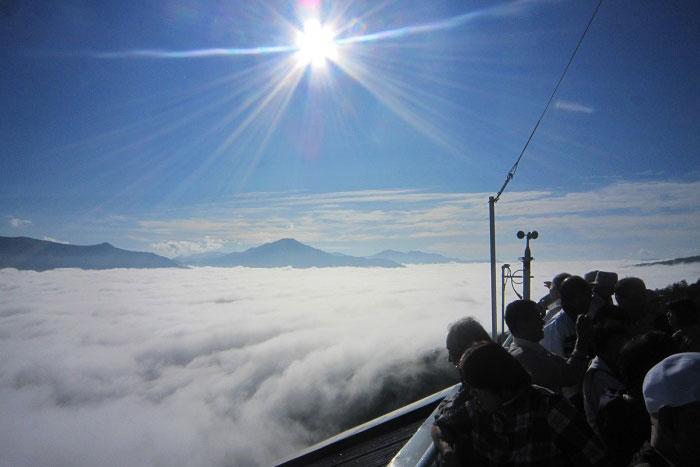 黒岳の紅葉・雲海の写真3