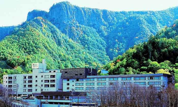 層雲峡観光ホテルの外観写真