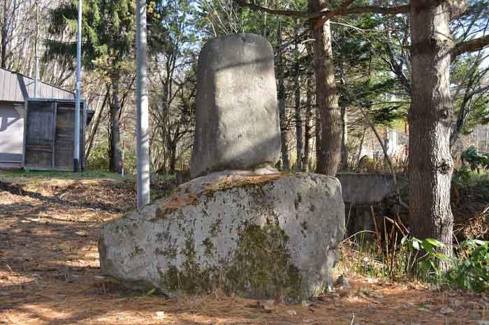 柳原白蓮歌碑の写真