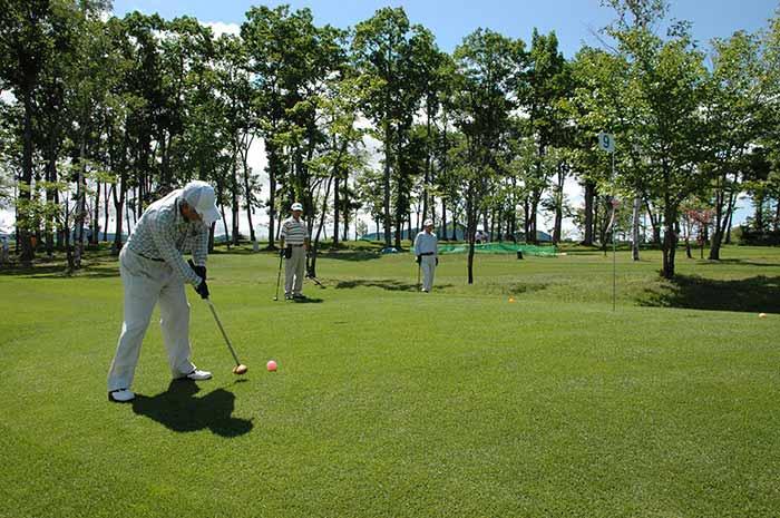 パークゴルフ場の写真