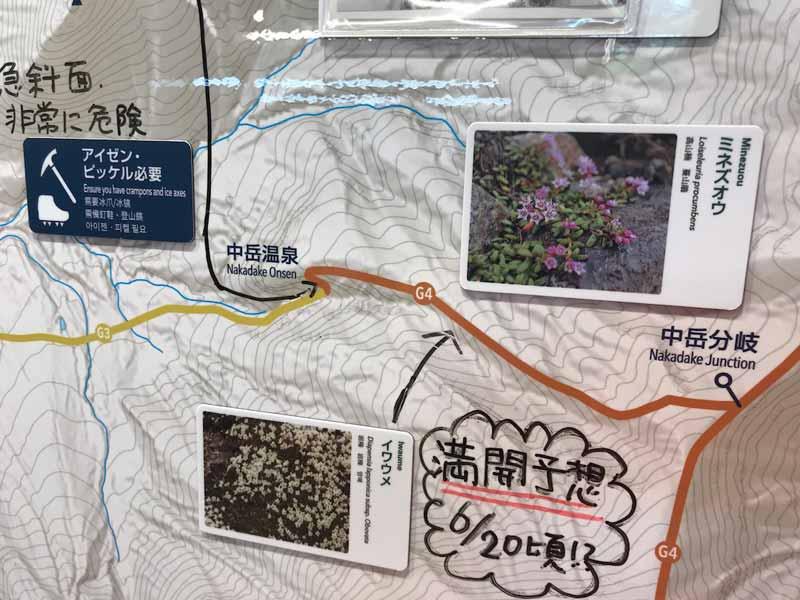 旭岳ビジターセンター山の情報写真